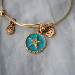 Gold Charm Bracelets (2)